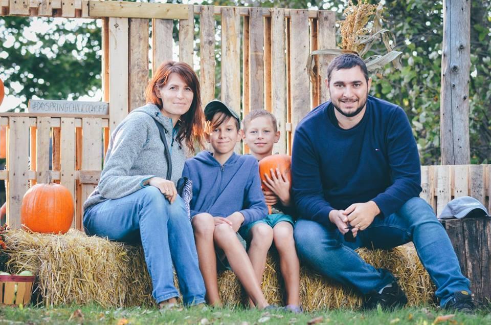 Светлана Гончарова, автор Flymama с семьей