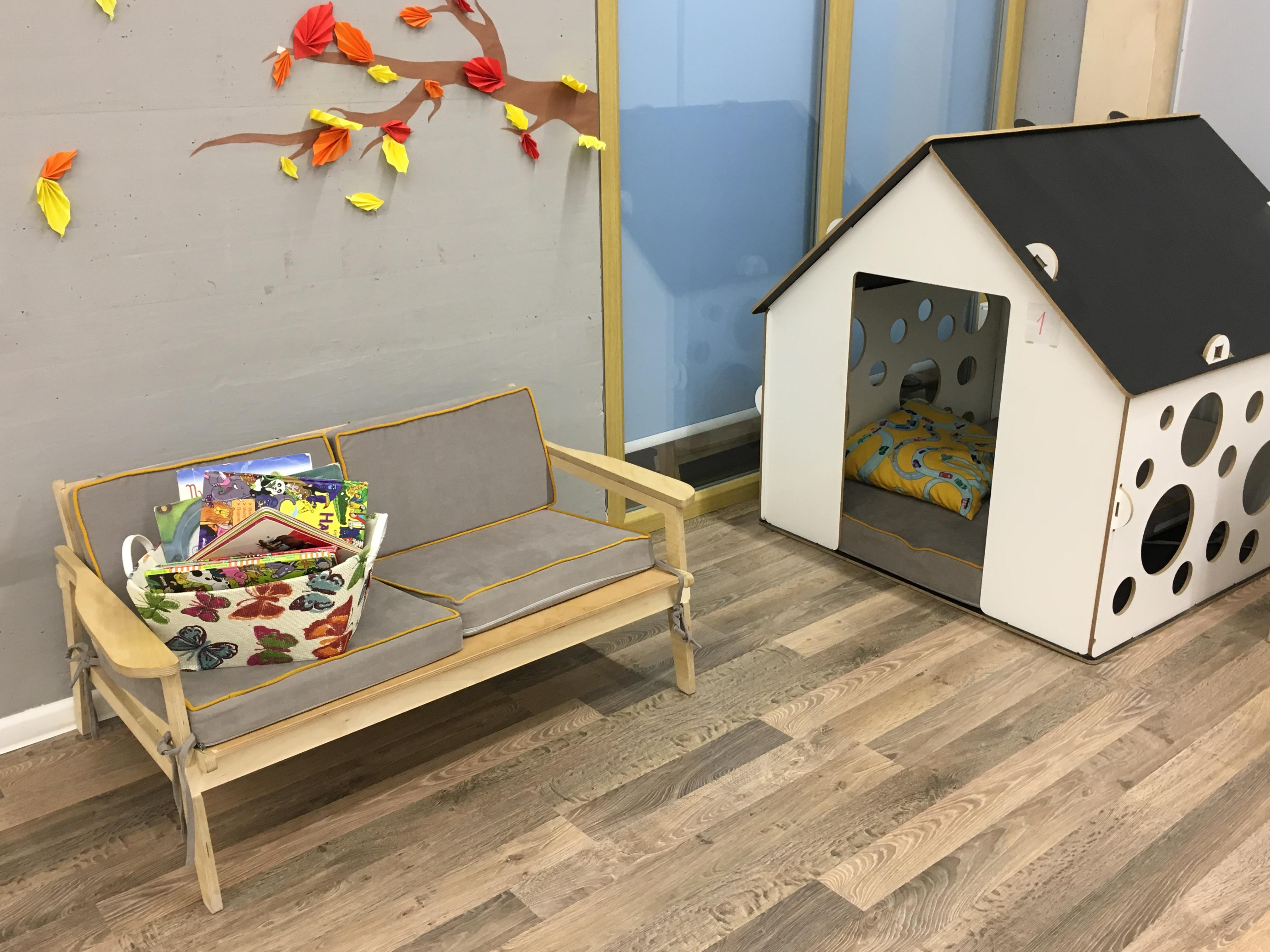 Интерьер детского сада Urban kids