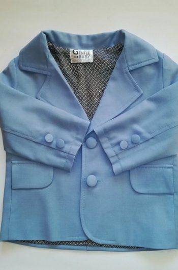 Нарядный пиджак для мальчика 86