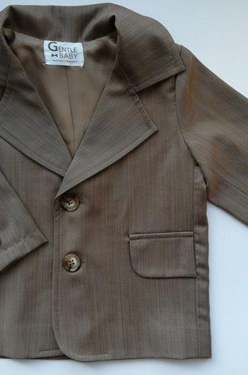 Праздничный пиджак для мальчика на годик