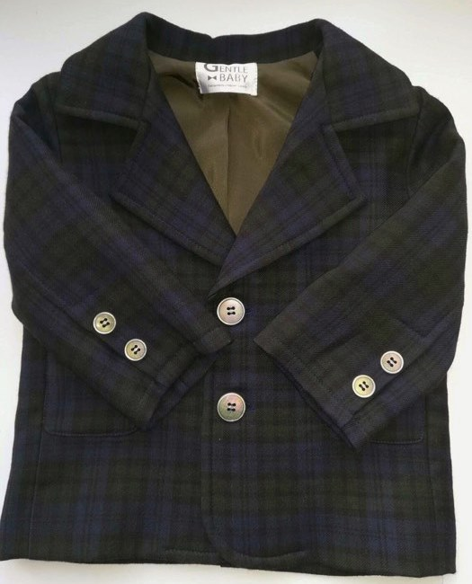Нарядный пиджак для мальчика