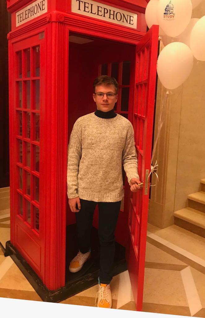 сын Надежды Васильевой (Генеральный директор Майкрософт Украина)
