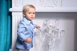 Нарядный костюм на день рождения для мальчика