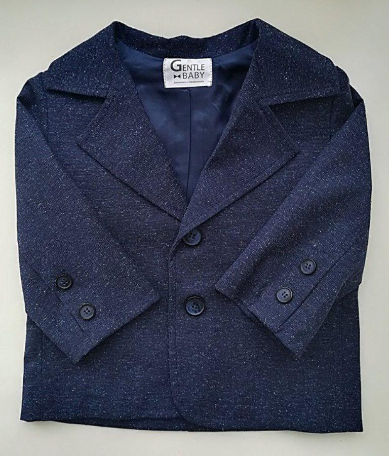 Нарядный пиджак на годик