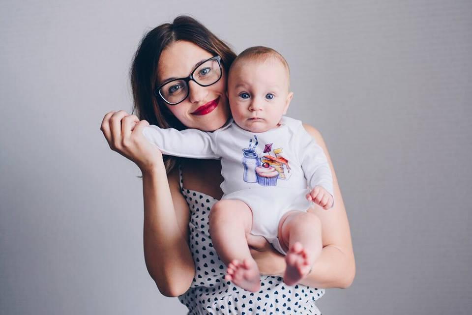 Юлия Буговская с сыном